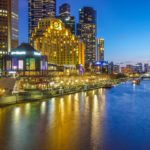Night view of Melbourne
