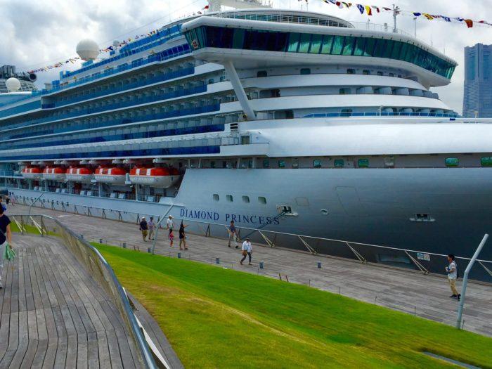 Cruise ship at Yokohama