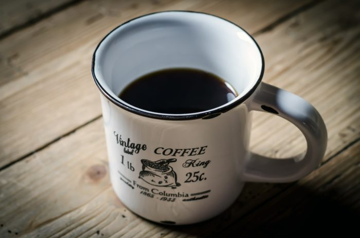 Coffee in a mug