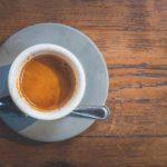 Espresso in a demitasse