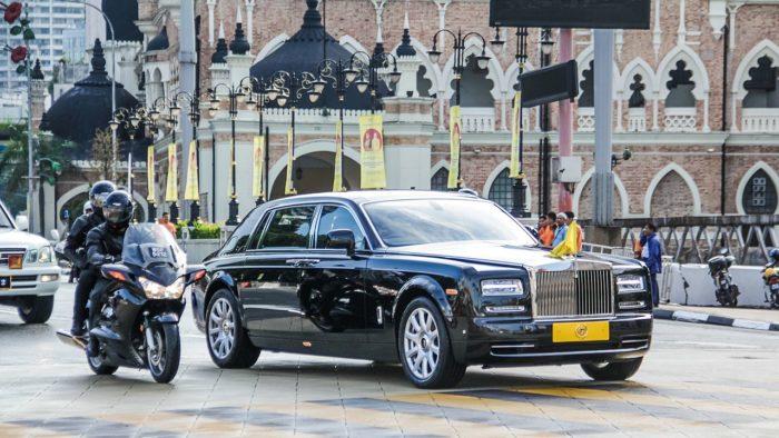 Limousine of Malaysia King