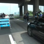 Checkpoint by Malaysian Police