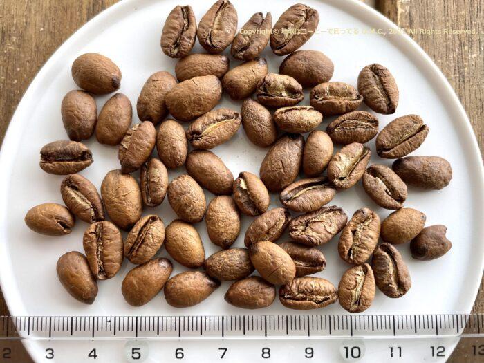 Coffee beans of Liberica
