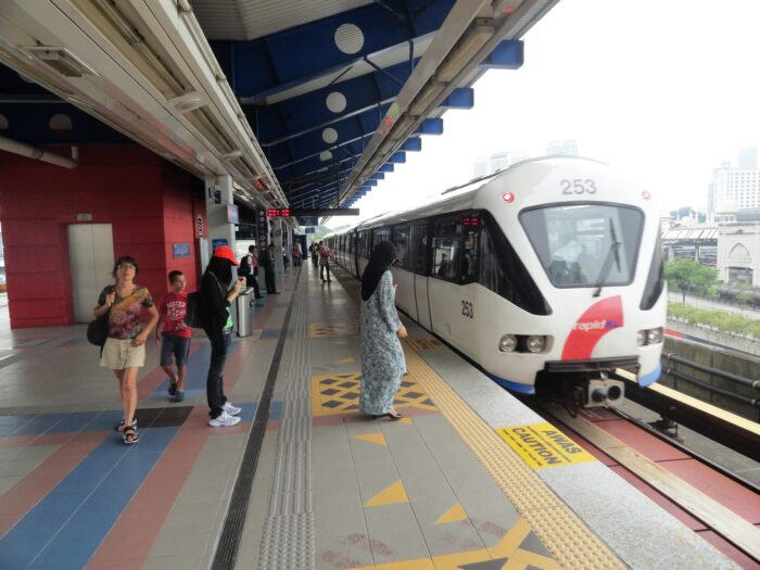 LRT @Pasar Seni Station